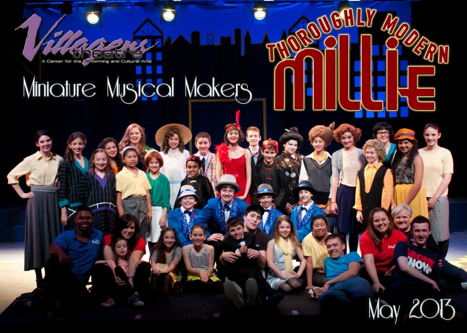 MMM MILLIE Cast Photo